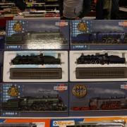 Coffrets de locomotives à vapeur