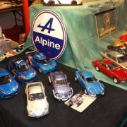 Collection d'Alpine Renault et de Lamborghini