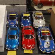 Collection d'Alpine Renault