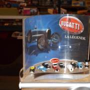 Collection de fèves Bugatti la légende
