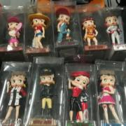 "Collection de figurines ""Betty Boop"""