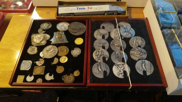 Collection de médailles