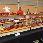 Collection de véhicules de Pompiers