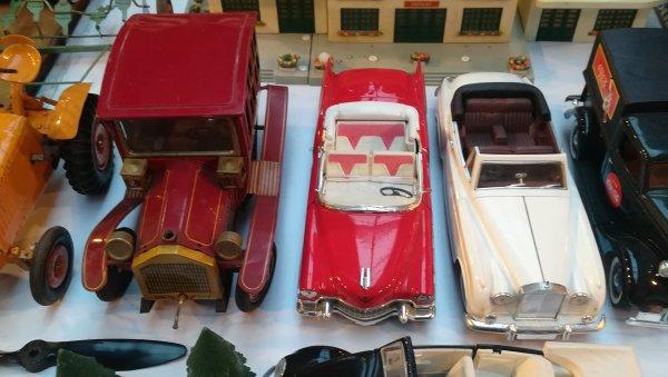 Collection de voitures anciennes