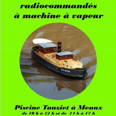 Concours de Modèles RC navigants à vapeur à Meaux (Février 2018)