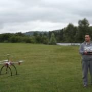 Démonstration de pilotage de la Sté ALT Drones