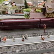 Départ d'un vapeur en gare de Neuffen