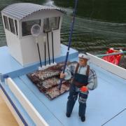 Détail de la Barge ostréicole