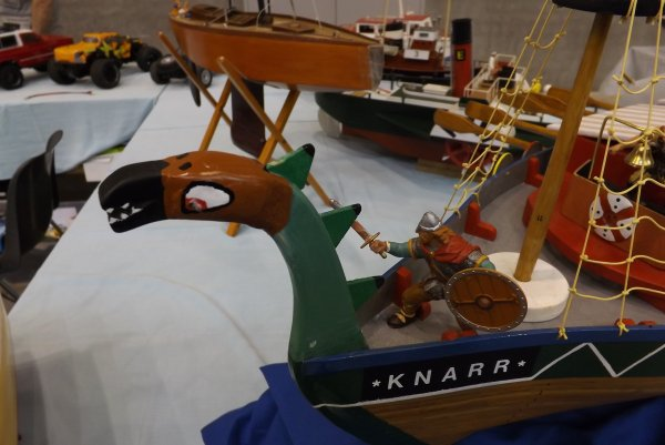 Détail du Navire Viking