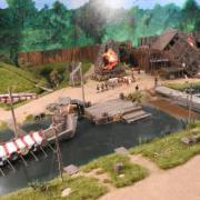 Détail les Vikings au Puy du Fou