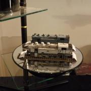Deux belles locomotives à vapeur