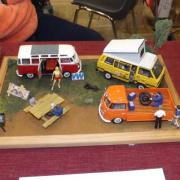 Diorama dédié aux VW