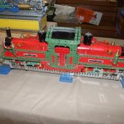 """Locomotive """"Taliesin"""" réalisée en Meccano"""