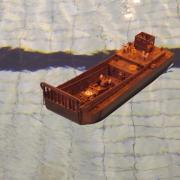 Barge US du débarquement