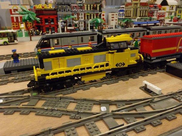 Locomotive diésel réalisée en