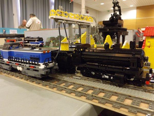 Locomotive vapeur réalisée en