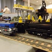 """Locomotive vapeur réalisée en """"LEGO"""""""