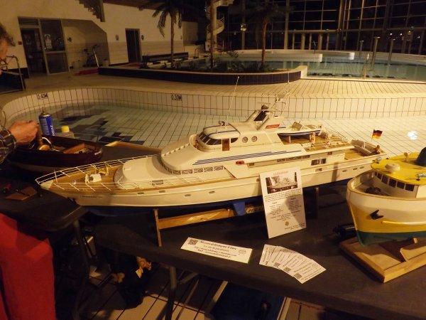 Yacht allemand de 1973 le