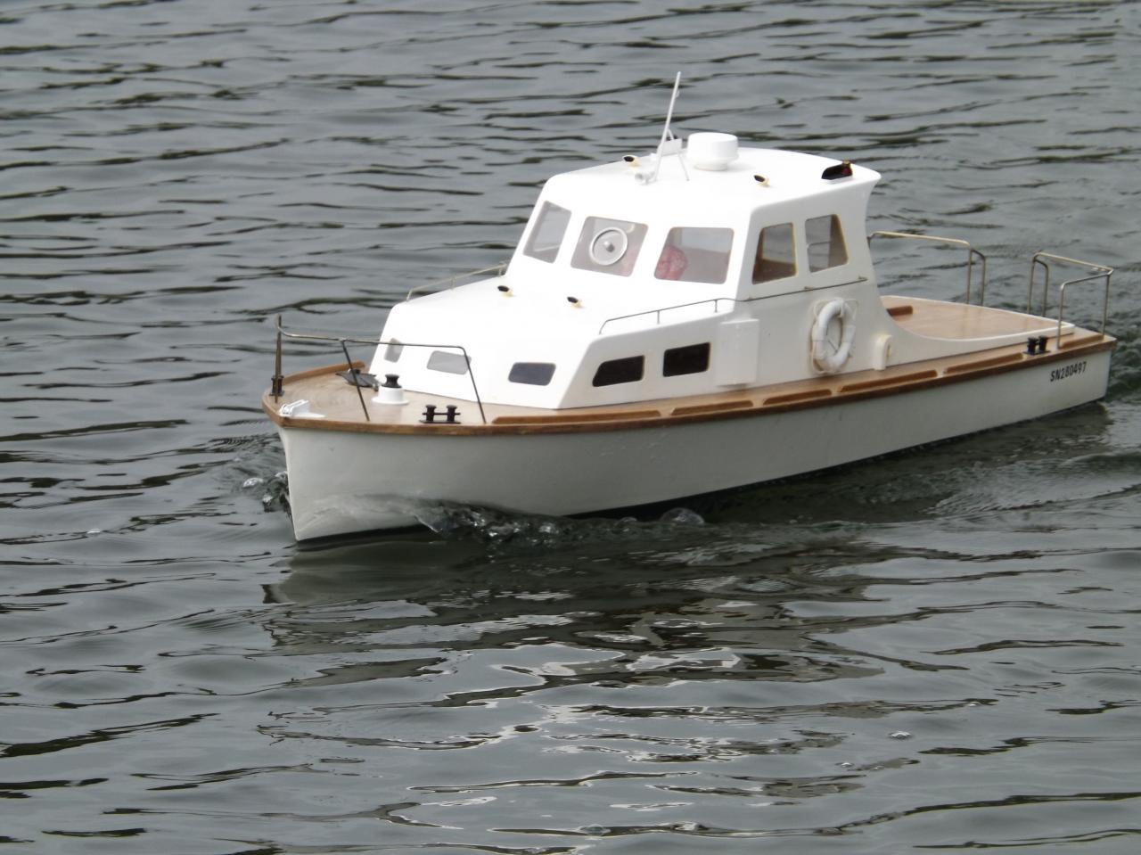 Le Stered-Mor en navigation