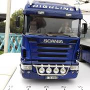 Un Scania Highline