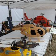 Quelques hélicoptères du Model Club de Meaux