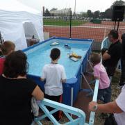 Bassin d'écolage pour les enfants