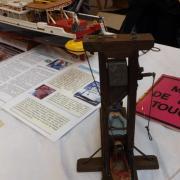 Symbole de la révolution Française (guillotine fonctionnelle)
