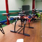 Un Multi-rotors