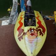 Racer avec moteur de 15 cm3