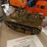Char Tchad N°10 jouet ancien des années 60
