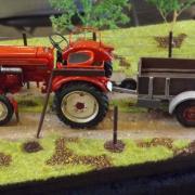 Engin agricole du bon vieux temps