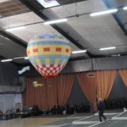 Envol d'une montgolfière