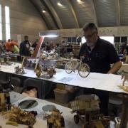 Freddy et ses maquettes en bois