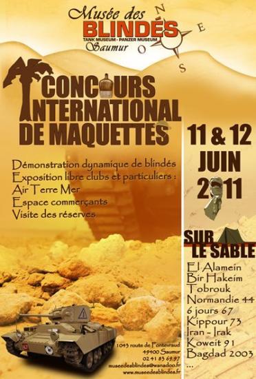Exposition à Saumur