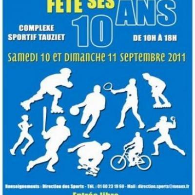 Les 10 ans de SportissiMeaux à Meaux, complexe sportif TAUZIER  (Septembre 2011)