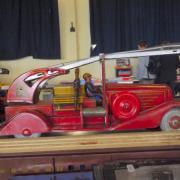 Jouet ancien Camion de pompier
