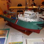 L'Alcyon Navire de soutien d'assistance et de dépollution