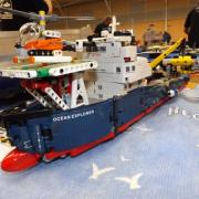 "Navire d'exploration scientifique ""l'Océan Explorer"" Lego Technic"