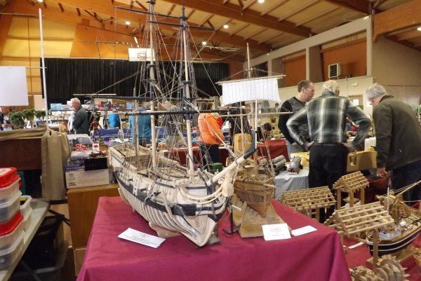 La Belle est l'un des quatre navires de l'expédition de 1684