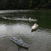 """La """"Combattante III"""" le """"Pégasus III"""" et la barge ostréicole"""