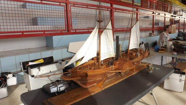 Le Gulnare construit en bois de poirier