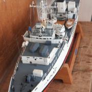 """Le """"Triton A646"""" bâtiment d'expérimentation et de recherches sous-marines de 1972"""