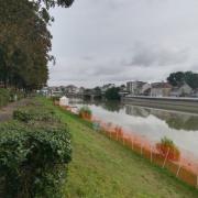 Les bords de Marne avant l'arrivée des visiteurs