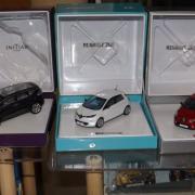 Les coffrets Renault - Initiale - Zoé et Clio