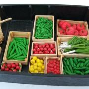 Les fruits et légumes de la barque à cornet des Hortillonnages d'Amiens