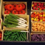 Les légumes de la Barque à cornet