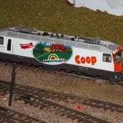 Locomotive suisse Ge 44III des Chemins de fer rhétiques