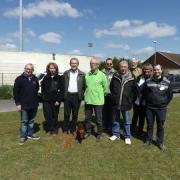 M. Allard, Maire adjoint délégué aux sports et les Présidents (es) des clubs participants