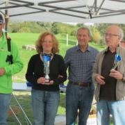 M. Christian Allard Maire-Adjoint délégué aux Sports avec les vainqueurs