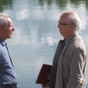M. Christian Allard Maire-Adjoint délégué aux Sports et M. Jean Didier